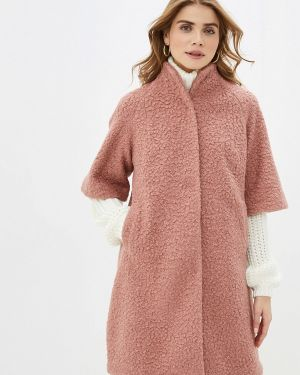 Пальто демисезонное розовое Imago