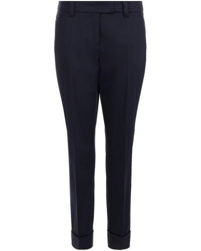 Укороченные брюки прямые с отворотами со стрелками Windsor