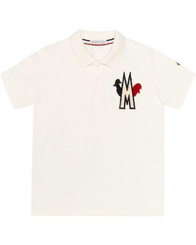 Классическая рубашка белая Moncler Enfant