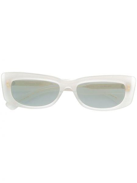 Муслиновые солнцезащитные очки прямоугольные хаки Christian Roth