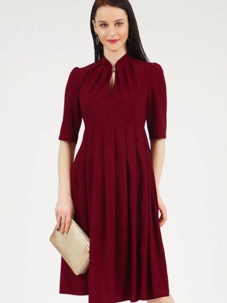 Повседневное платье бордовый красный Grey Cat