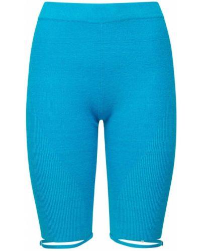 Синие короткие шорты Jacquemus