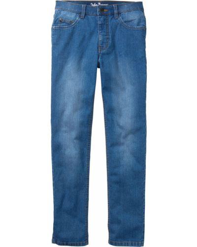 Синие джинсы с карманами Bonprix