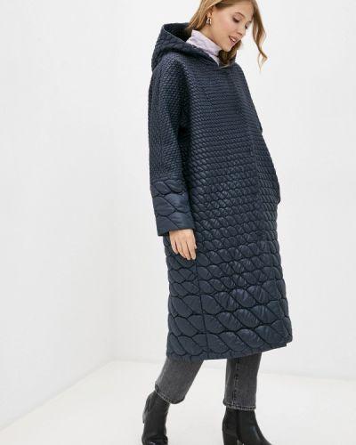 Утепленная синяя куртка Anna Verdi