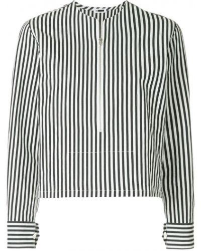 Блузка в полоску на молнии H Beauty&youth.