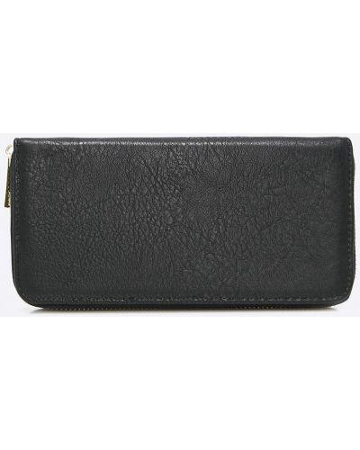 Черный кожаный кошелек Answear