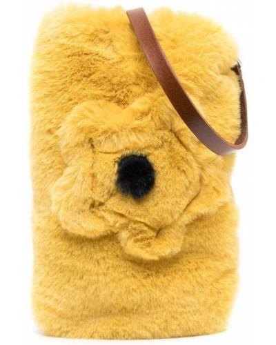 Żółta torebka Il Gufo