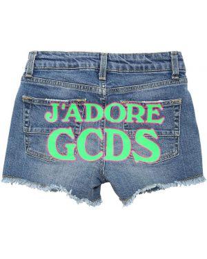 Синие шорты Gcds