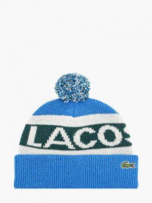 Шапка - синяя Lacoste