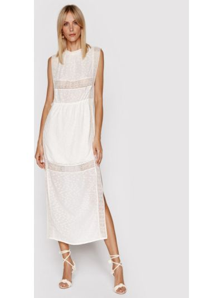 Beżowa sukienka na lato Iro