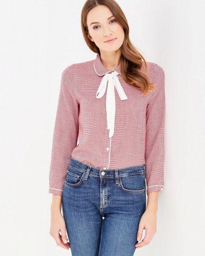 Блузка с бантом бордовый La Petite Etoile