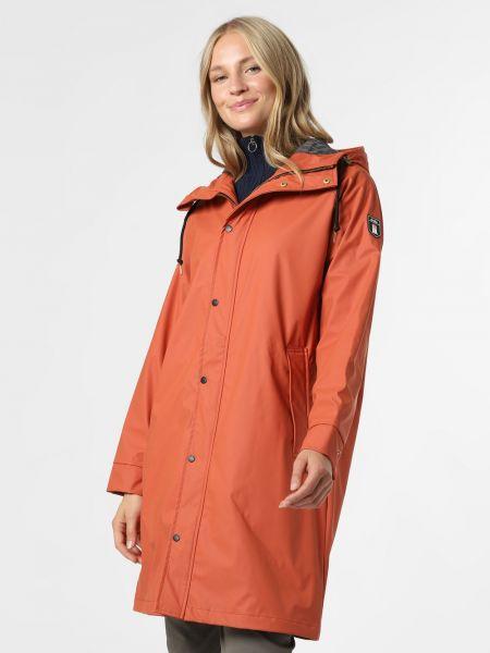 Pomarańczowy płaszcz przeciwdeszczowy Derbe