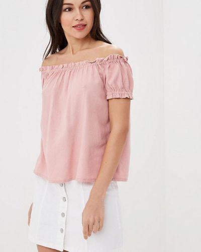 Розовая блузка с рюшами Vero Moda