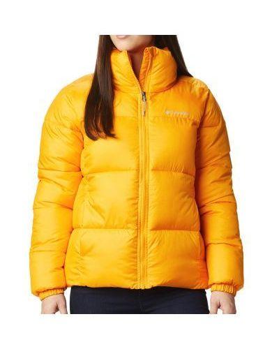 Ciepła żółta kurtka Columbia