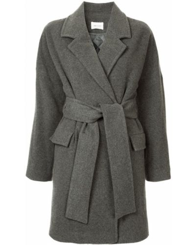 Пальто с поясом до колен I Am  Studio
