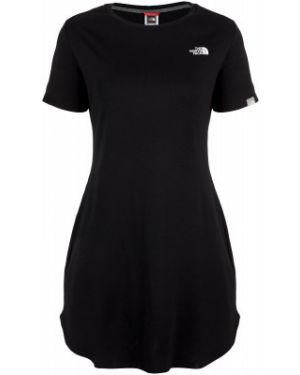 Свободное черное спортивное платье макси свободного кроя The North Face