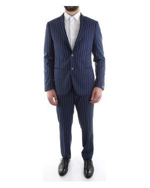 Niebieski garnitur Reporter