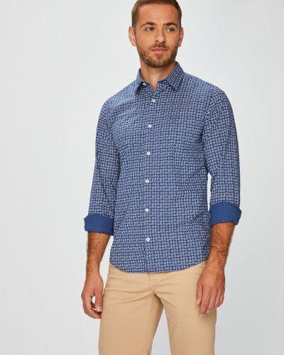 Рубашка с длинным рукавом хлопковая с узором S.oliver