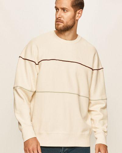 Biała bluza z kapturem bawełniana Levi's