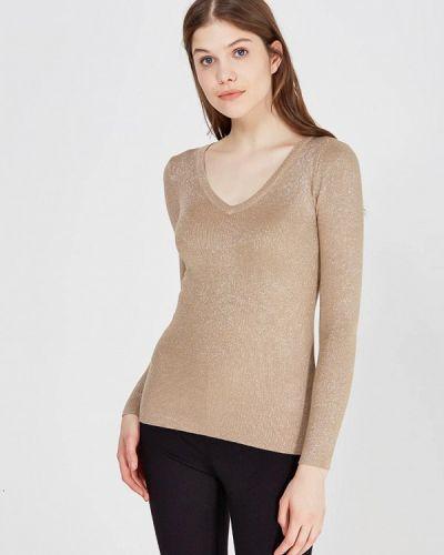 Пуловер золотого цвета Conso Wear