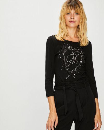 Черная блузка с рукавом 3/4 Morgan