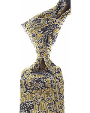 Złoty krawat - niebieski Roda