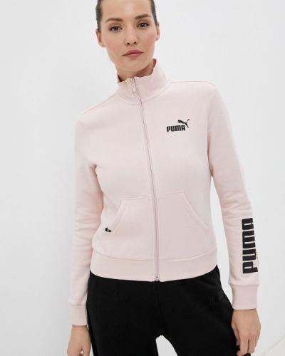 Розовая зимняя толстовка Puma