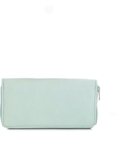 Niebieski portfel Guidi