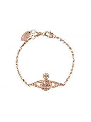 Ażurowa złota bransoletka ze złota Vivienne Westwood