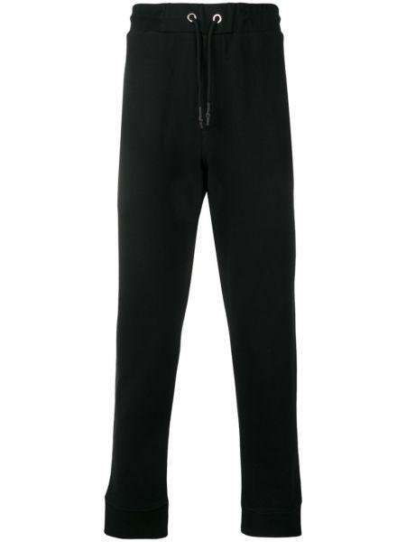 Czarne spodnie bawełniane Mcq Alexander Mcqueen