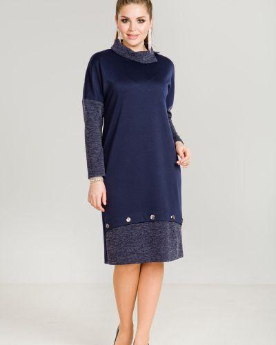 Повседневное платье трикотажное лапша марита