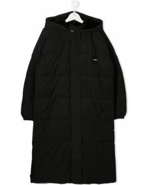 Длинное пальто черное Dkny Kids