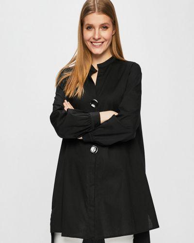 Блузка с длинным рукавом однотонная оверсайз Answear