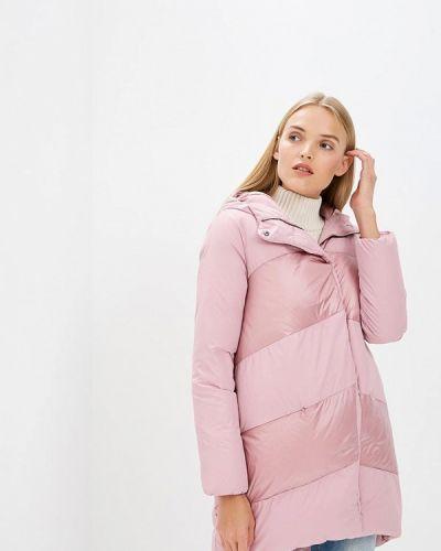 Розовый пуховик Bosideng
