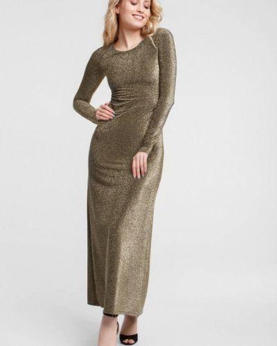 Вечернее платье золотое Oks By Oksana Demchenko