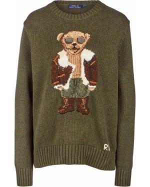 Джемпер шерстяной зеленый Polo Ralph Lauren