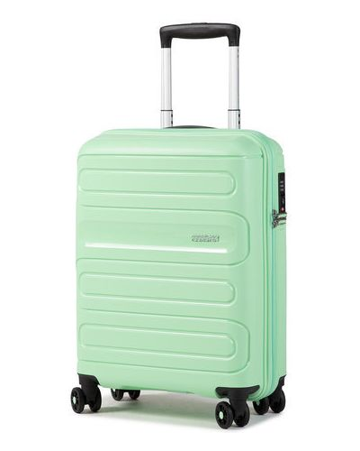 Zielona walizka American Tourister