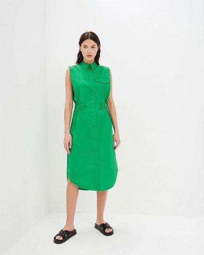 Платье платье-рубашка весеннее Calvin Klein