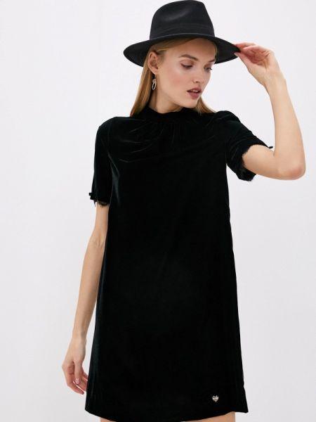 Платье прямое черное Blugirl Folies
