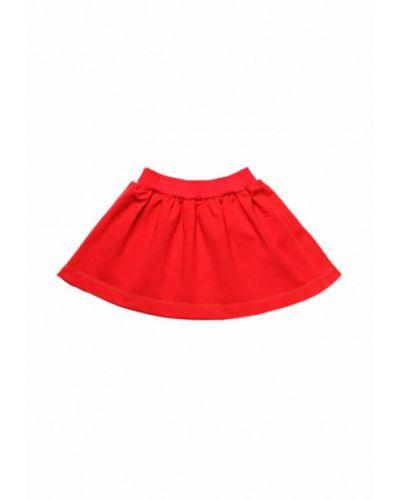 Красная юбка модный карапуз