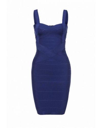 Вечернее платье синее ManÔsque