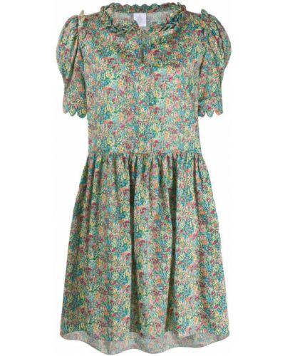 Платье с цветочным принтом платье-солнце Horror Vacui