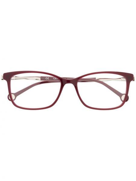 Муслиновые фиолетовые солнцезащитные очки прямоугольные Ch Carolina Herrera