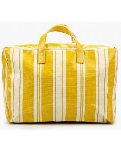 Желтая дорожная сумка Mango