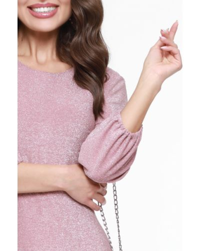 Нарядное с рукавами трикотажное платье-футляр Dstrend