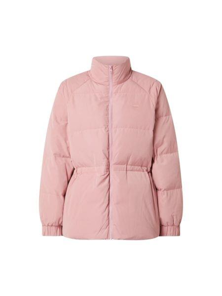 Różowa długa kurtka z długimi rękawami Levi's