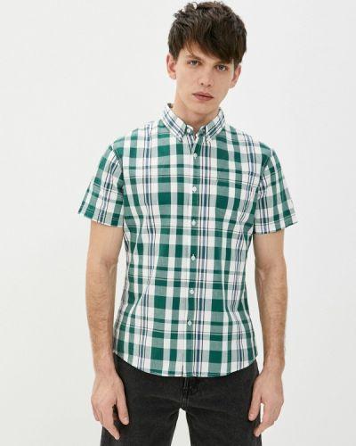 Зеленая рубашка с короткими рукавами Lee Cooper