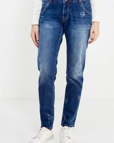 Синие джинсы бойфренды Whitney