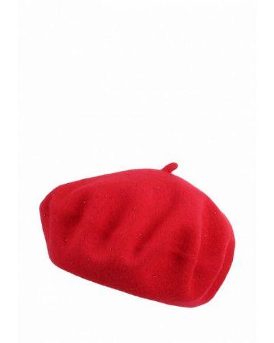 Красный берет осенний Di Lana