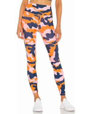 Sportowe spodnie z wysokim stanem elastyczne Splits59